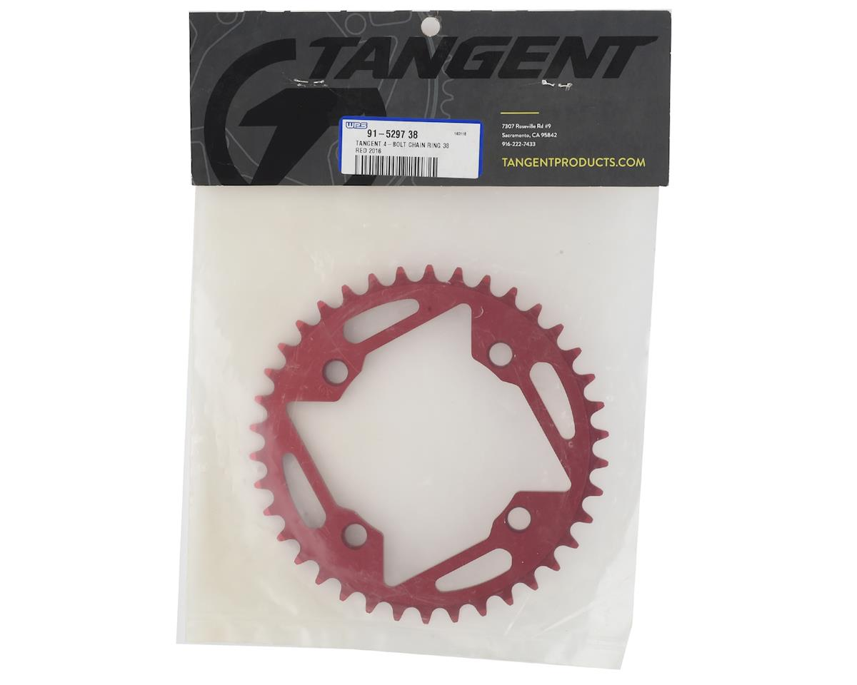 91-5297/_36-P Tangent 4-Bolt Chain Ring 2016 Red